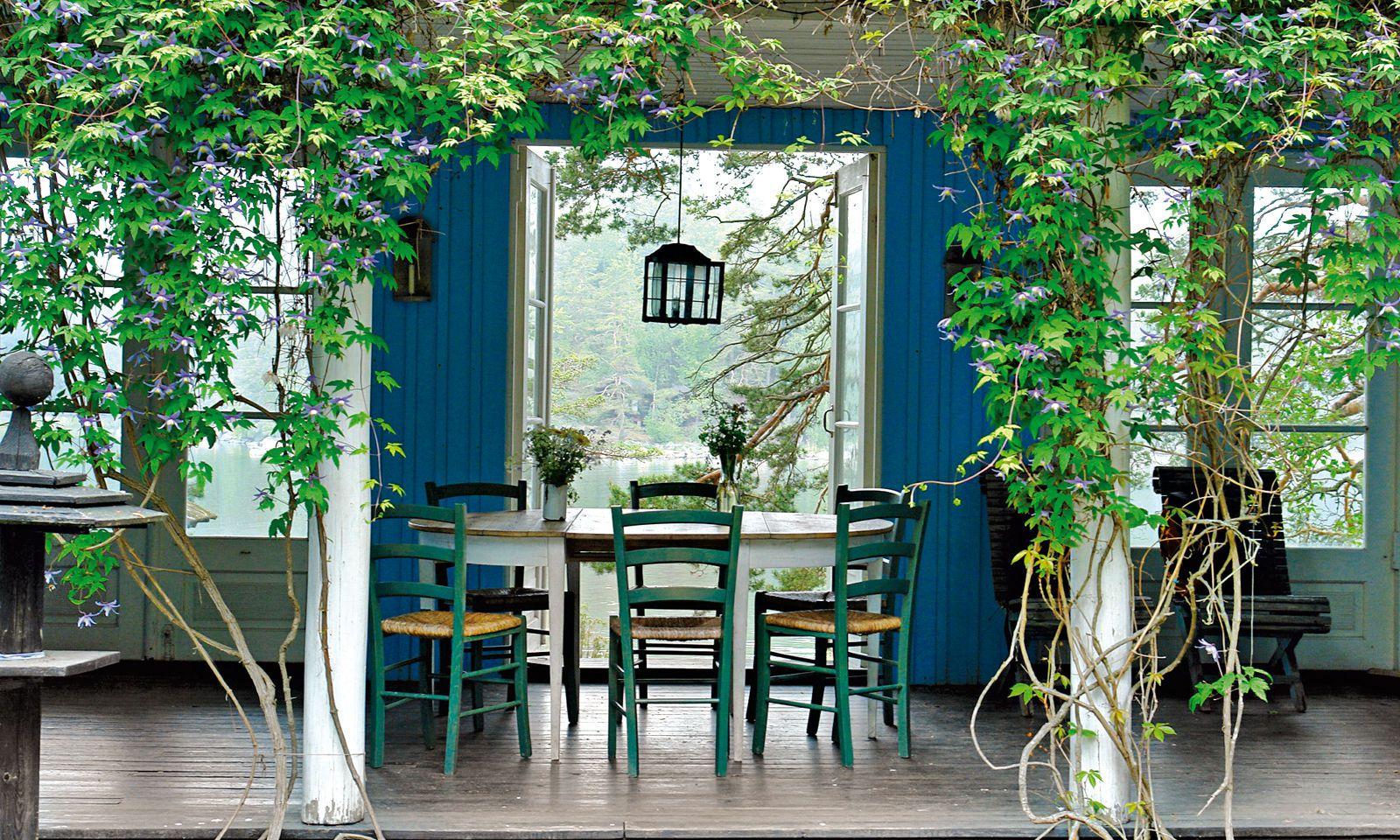 Oase. Im Archipel von Helsinki liegt die verwunschene Architektenvilla Oivala.