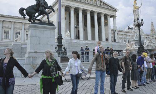 Martin Graf Protest