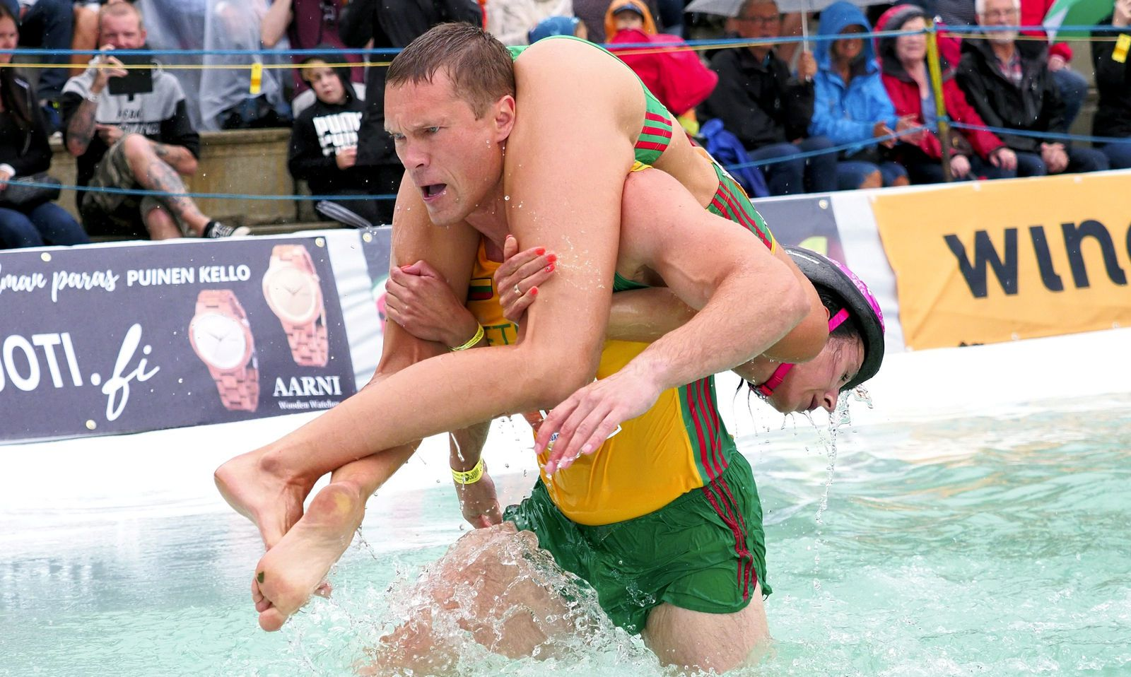 The Wife Carrying World Championships 2019