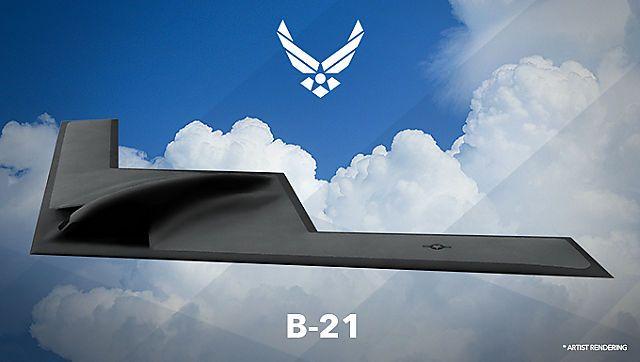 """Konzeptskizze der B-21 """"Raider"""""""