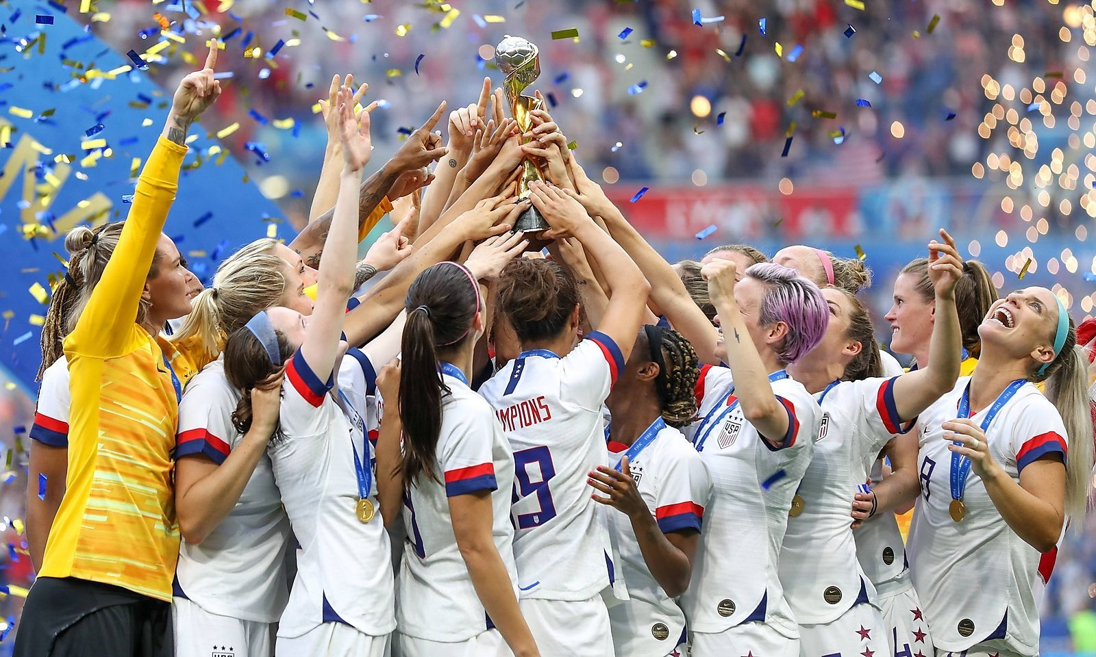 Frauen Fussball Wm Zuschauer Forderten Equal Pay