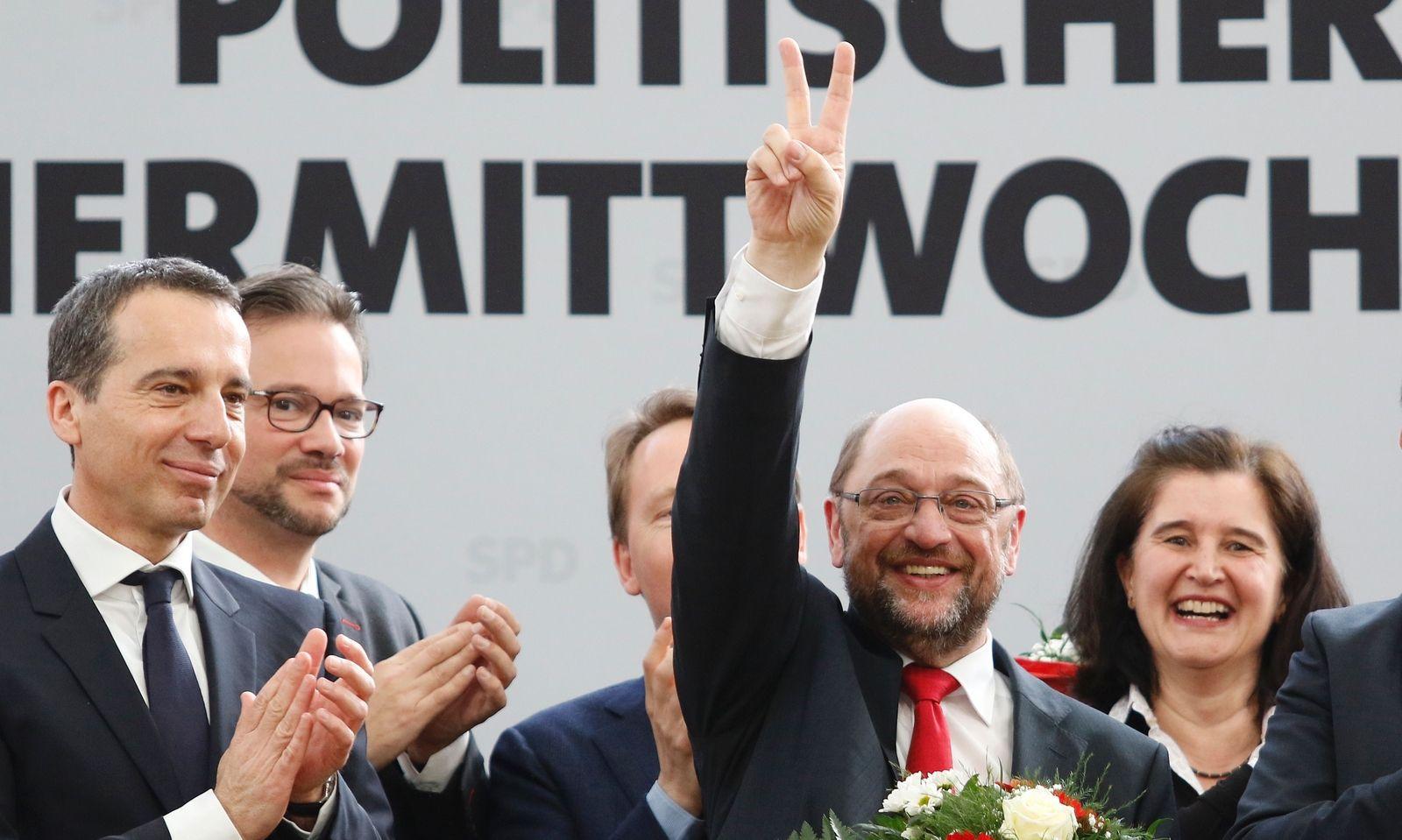 Christian Kern und Martin Schulz