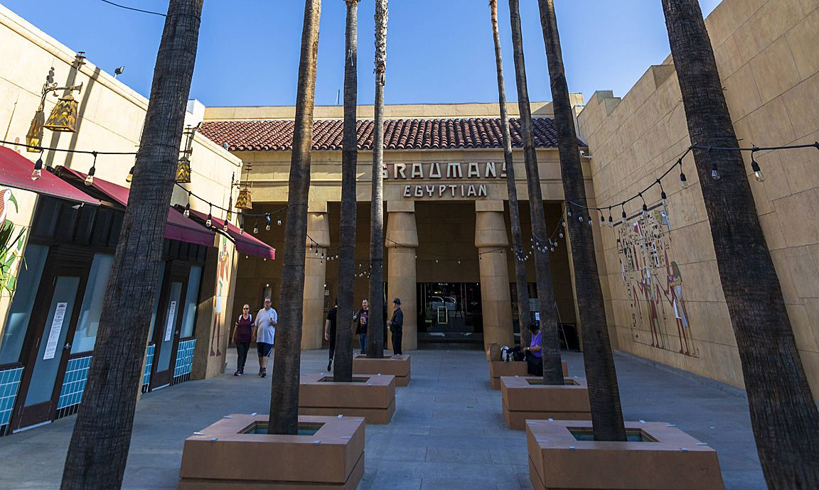 Grauman s Egyptian Theatre Hollywood Boulevard Hollywood Los Angeles California United States o