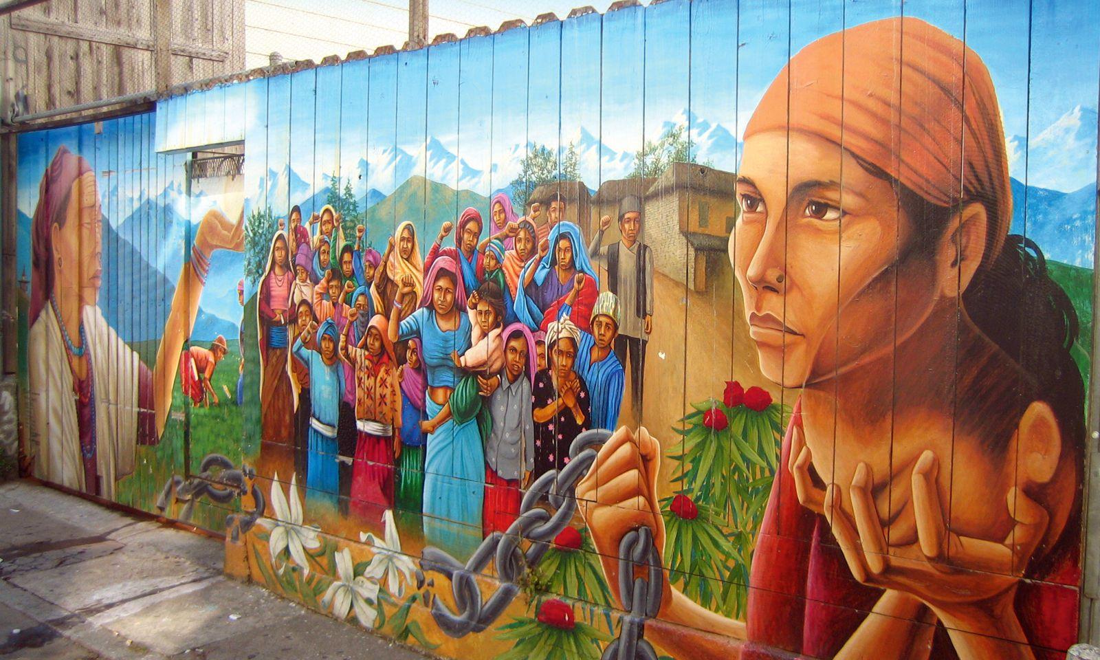 Verdrängung. Murals erzählen auch die Geschichte der Gentrifizierung.