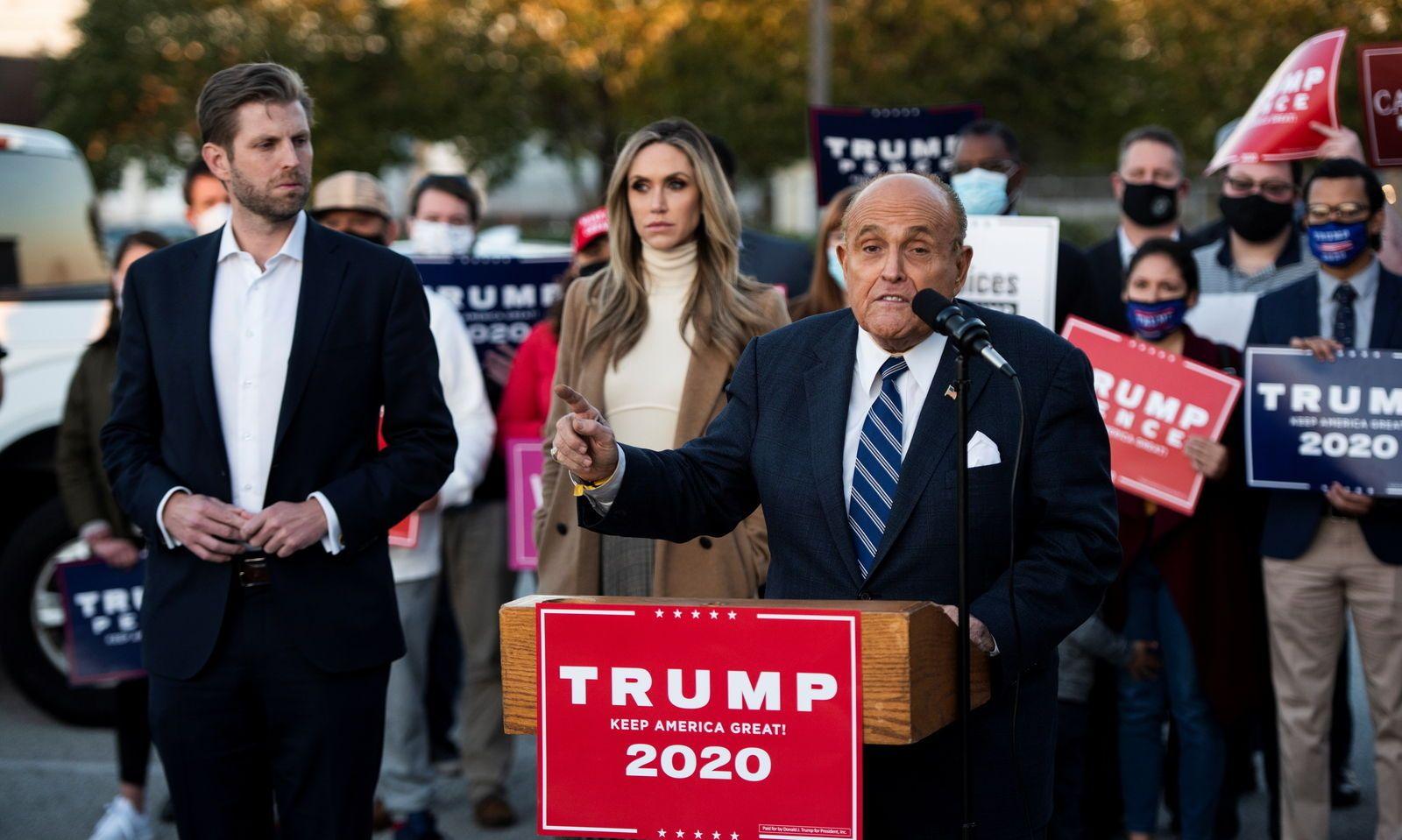 Die Trumps rufen alle Republikaner zu den Fahnen | DiePresse.com