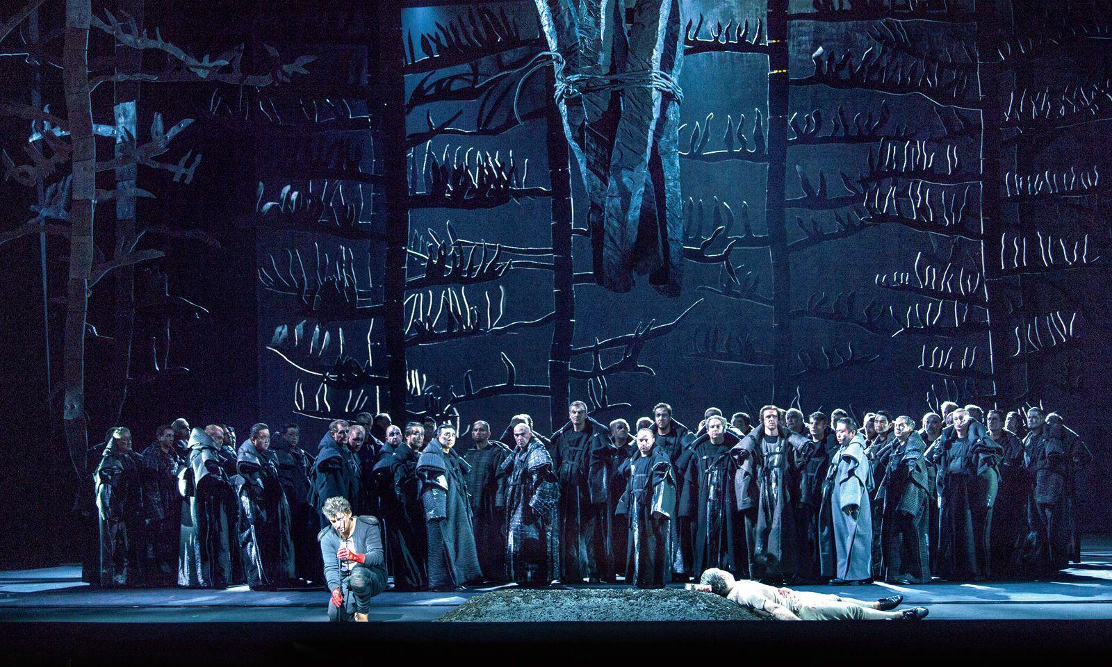 Ernst. Als Parsifal an der Bayerischen Staatsoper München (2015).