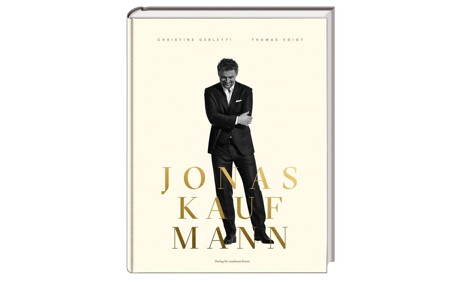 """""""Jonas Kaufmann"""". Verlag für moderne Kunst, 445 Seiten, 49 Euro."""