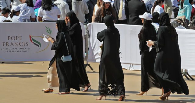 Gäste im Sajed-Stadion.