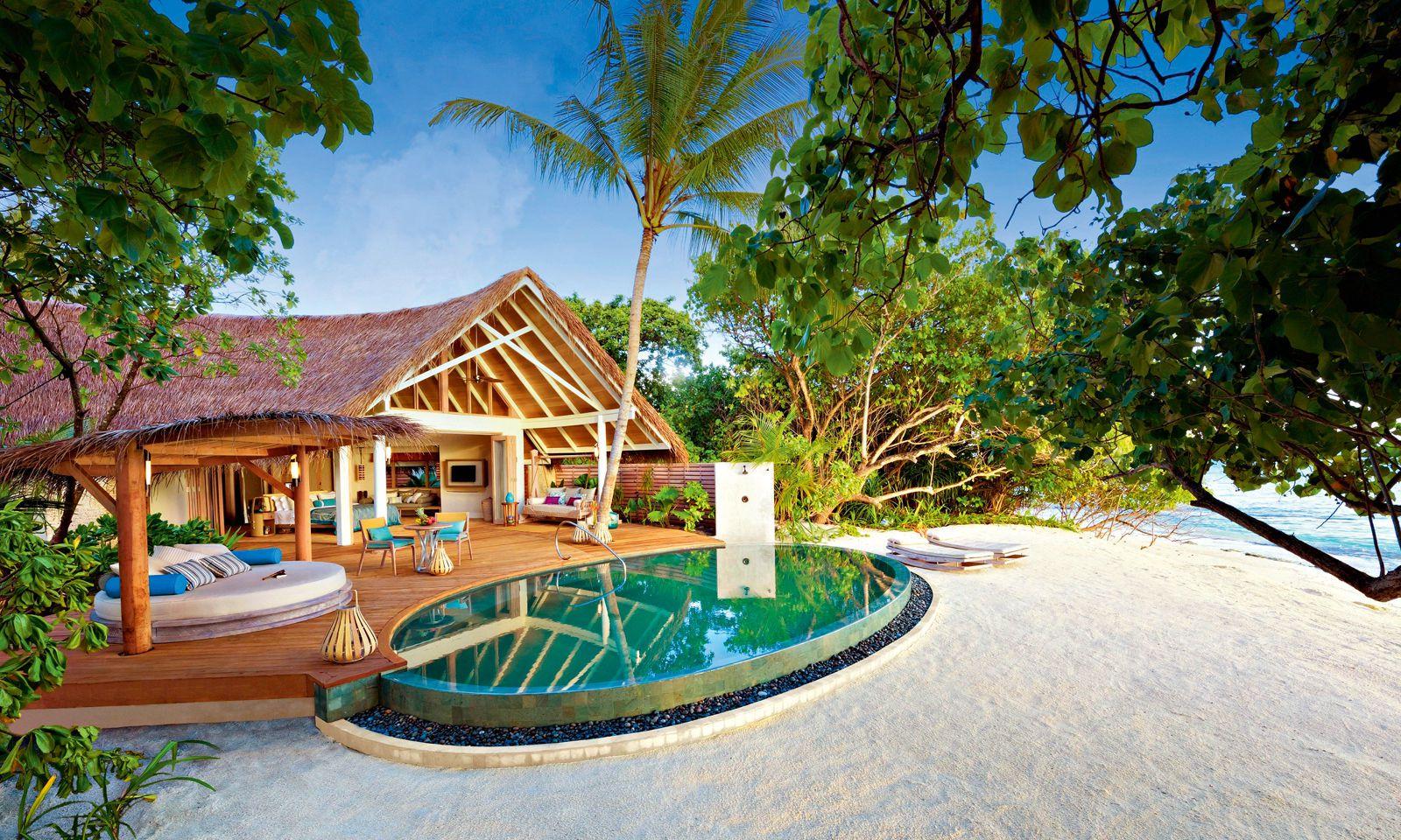 Privatsphäre. Die meisten Gäste verlassen ihre Villen samt Pool nur selten.