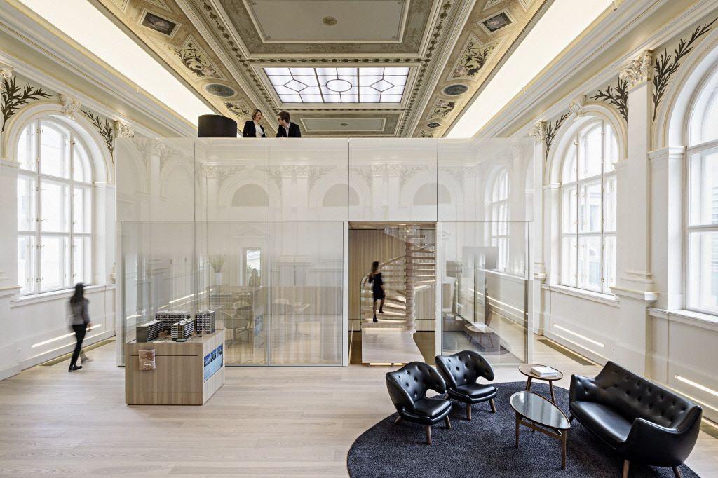 Die ehemalige k.u.k. Post- und Telegraphendirektion wurde von JP Immobilien umgebaut, modernisiert und revitalisiert.