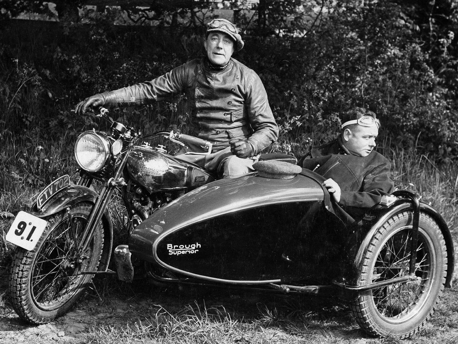 Brough Superior SS100 von 1939