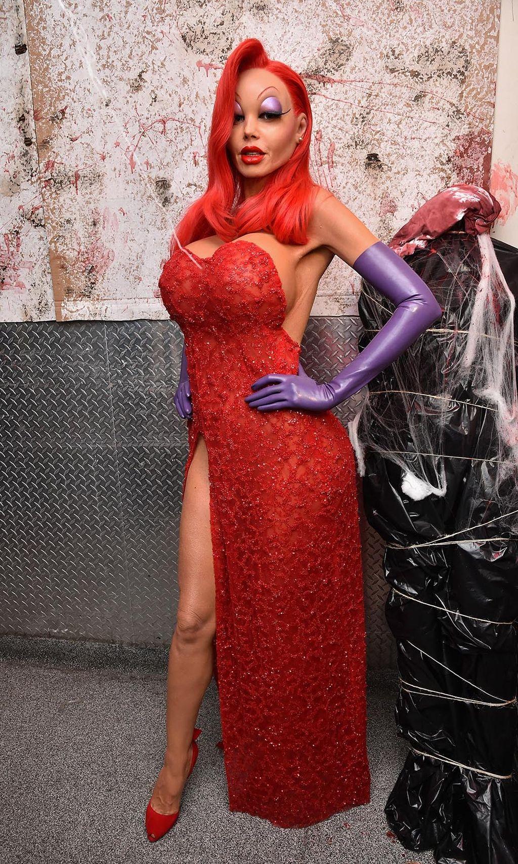 Oh Shrek Heidi Klums Halloween Kostume Diepresse Com