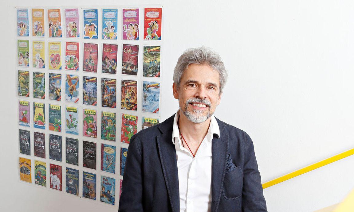 """Thomas Brezina """"Mein Erstes Buch Habe Ich Weggeworfen"""" DiePresse"""