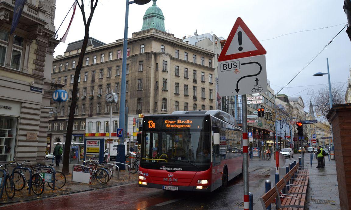 Mariahilfer Straße Neu 13a Umfährt Fußgängerzone Diepressecom