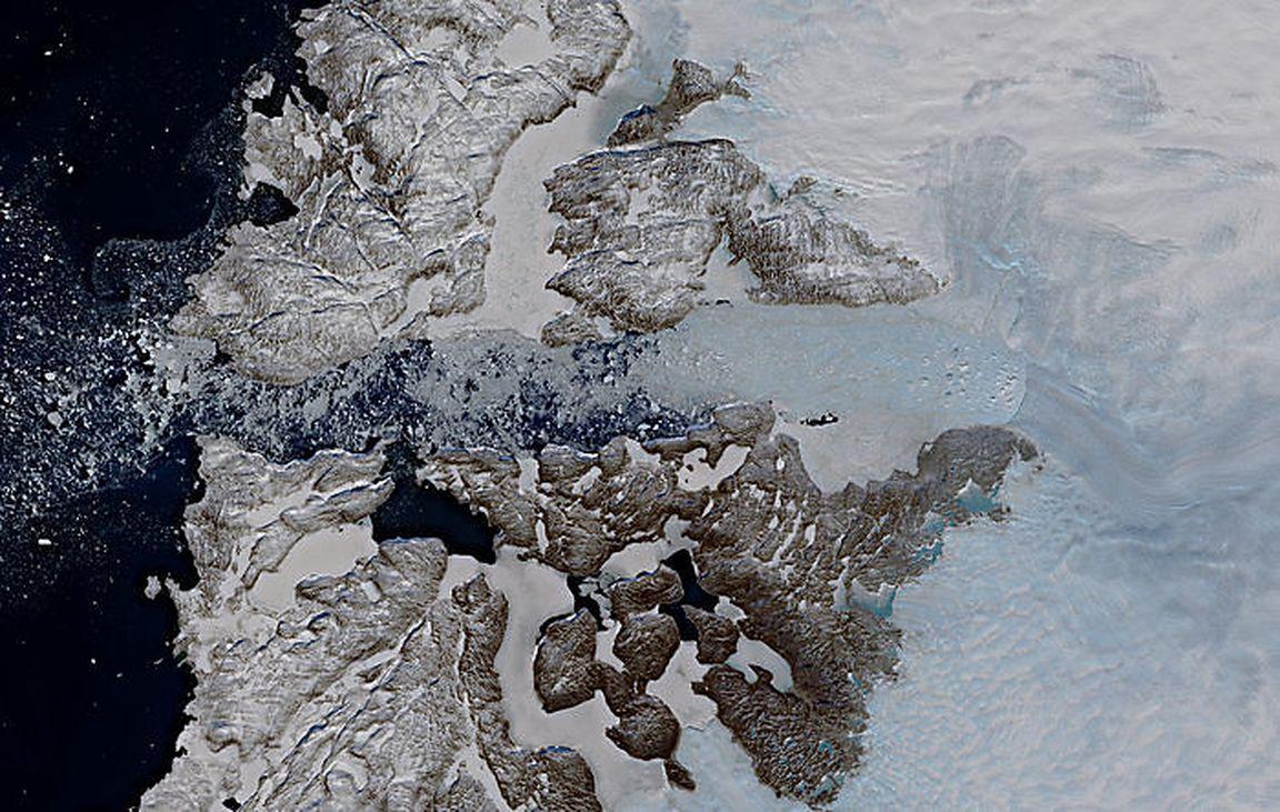 Gletscher Wachsen Wieder