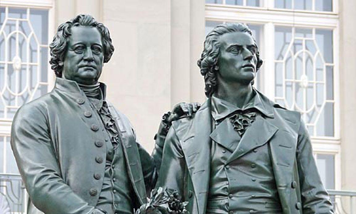 Briefe Von Schiller An Goethe : Briefwechsel zwischen goethe und schiller ist online