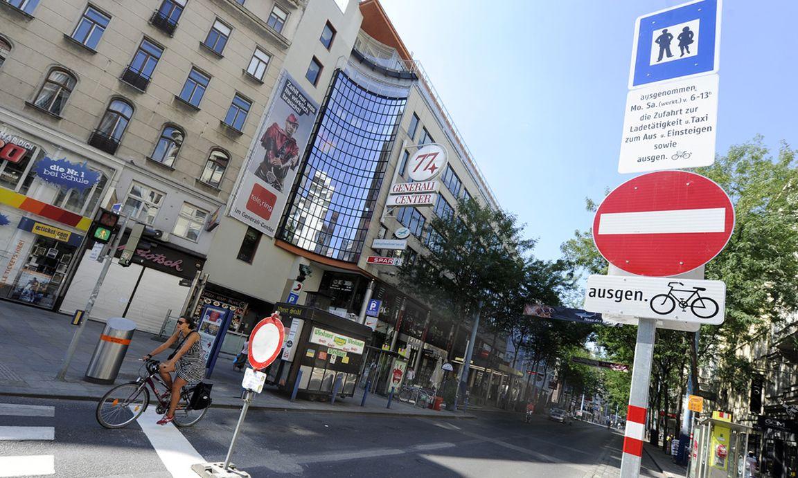Mariahilfer Straße Verkehr Löst Sich In Luft Auf Diepressecom