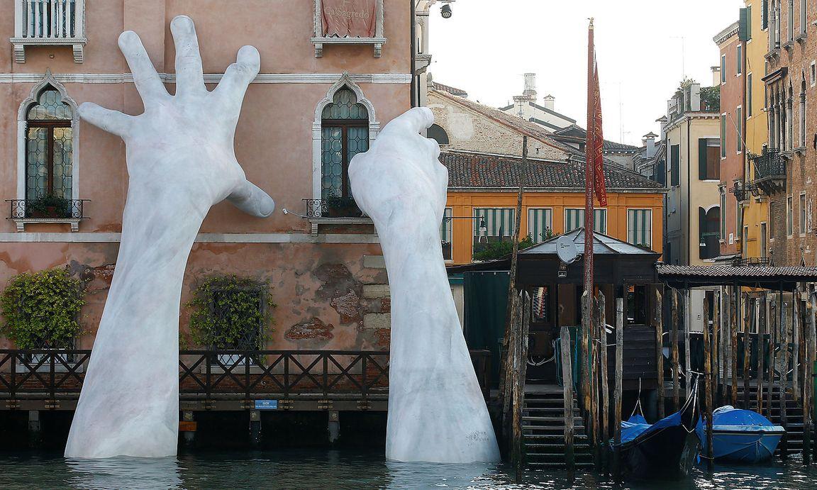 Venedigs Hände müssen weg, gegen den Willen der Bewohner ...