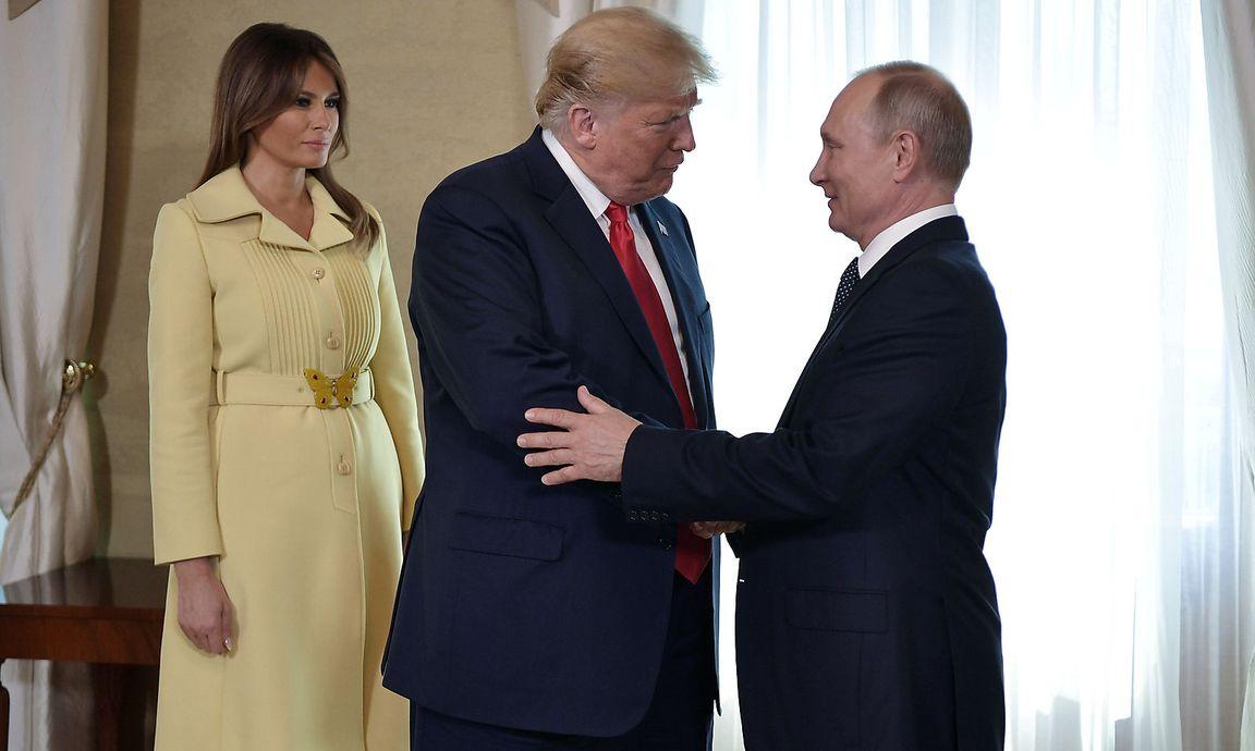 Donald Trump über Putin