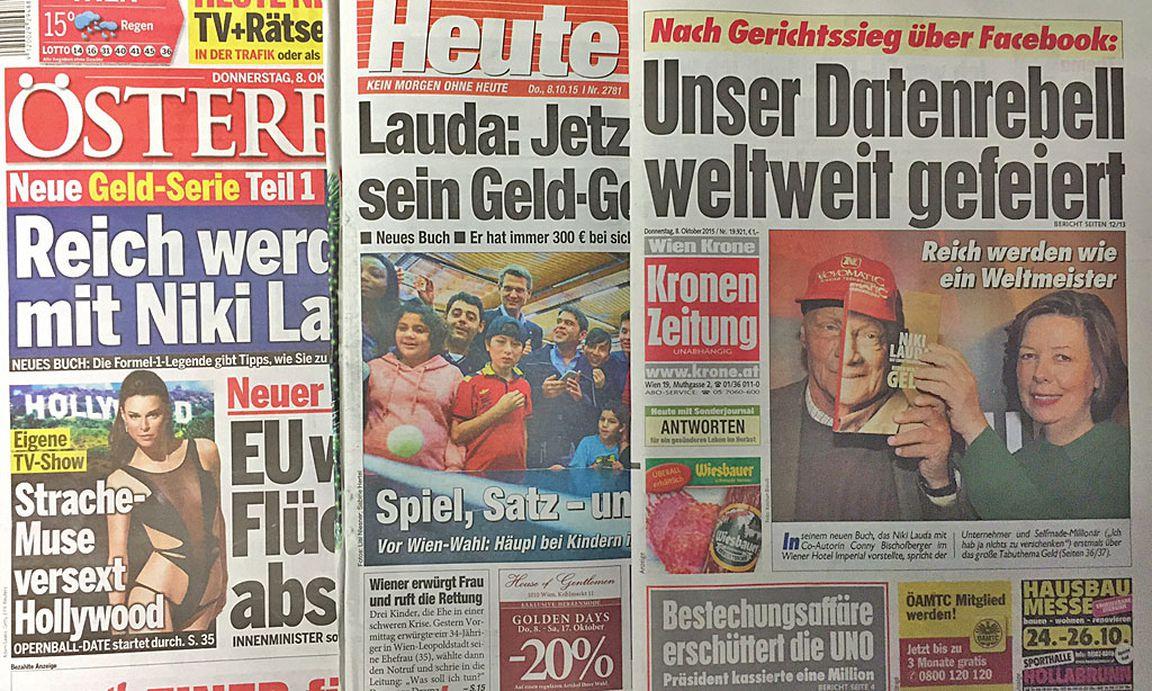 Kronen Zeitung österreich Heute