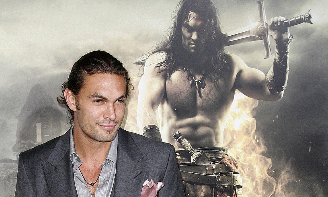 Batman Vs Superman Jason Momoa Spielt Aquaman V Cast Member Arrives At The Film Premiere Of Conan Barbarian In