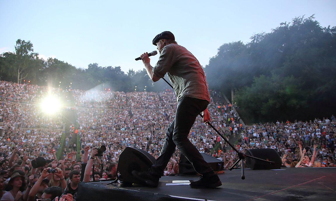 Campino Von Der Band Die Toten Hosen Beim Peace X Benefiz Festival Am 5 Juni
