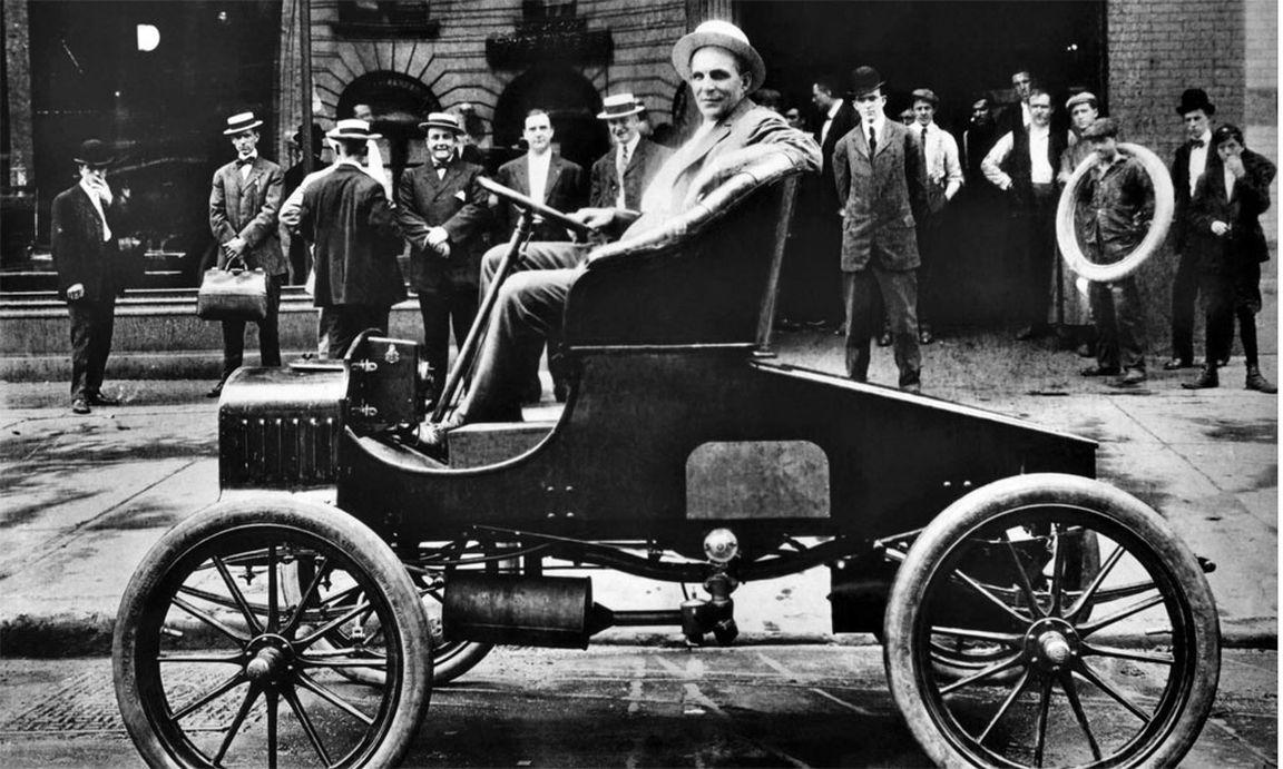 Henry Ford Im Alter Von 37 Jahren