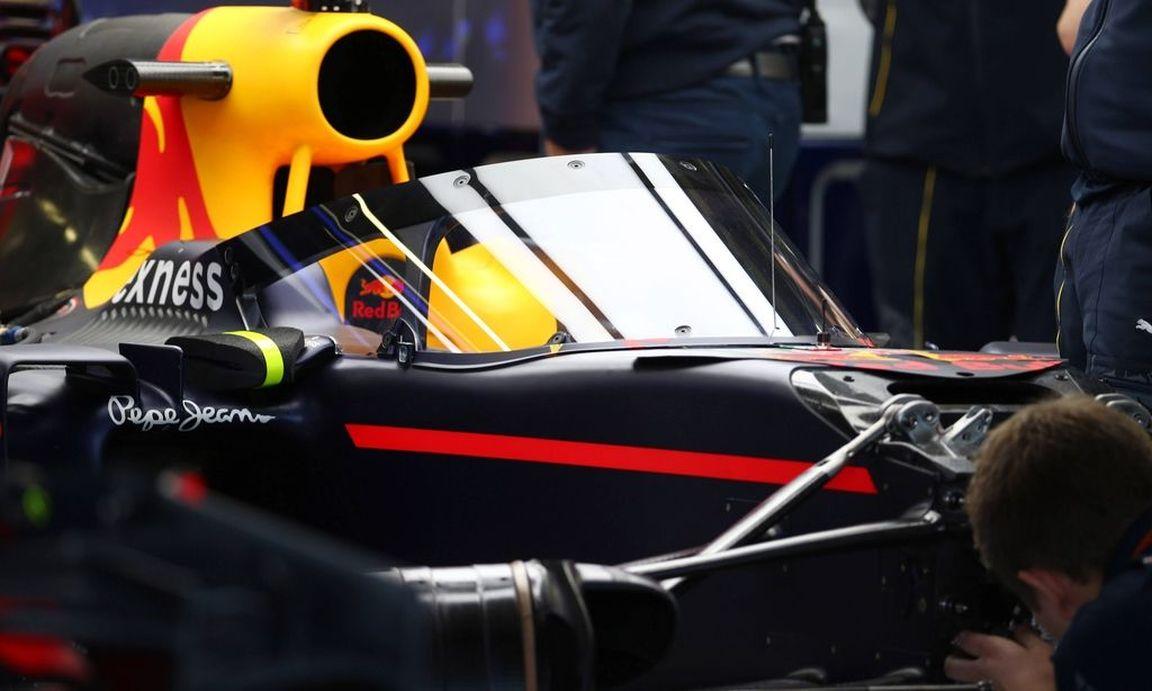 Formel-1-Rennwagen mit Windschutzscheibe « DiePresse com