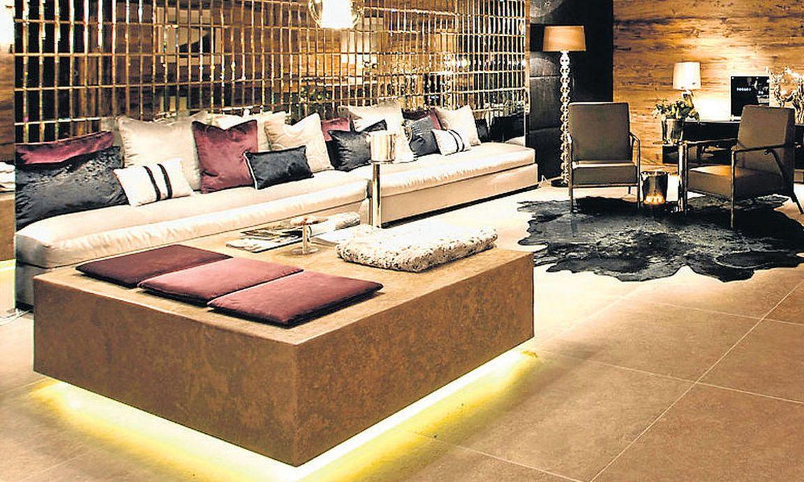 luxus sch ner wohnen im schnee. Black Bedroom Furniture Sets. Home Design Ideas