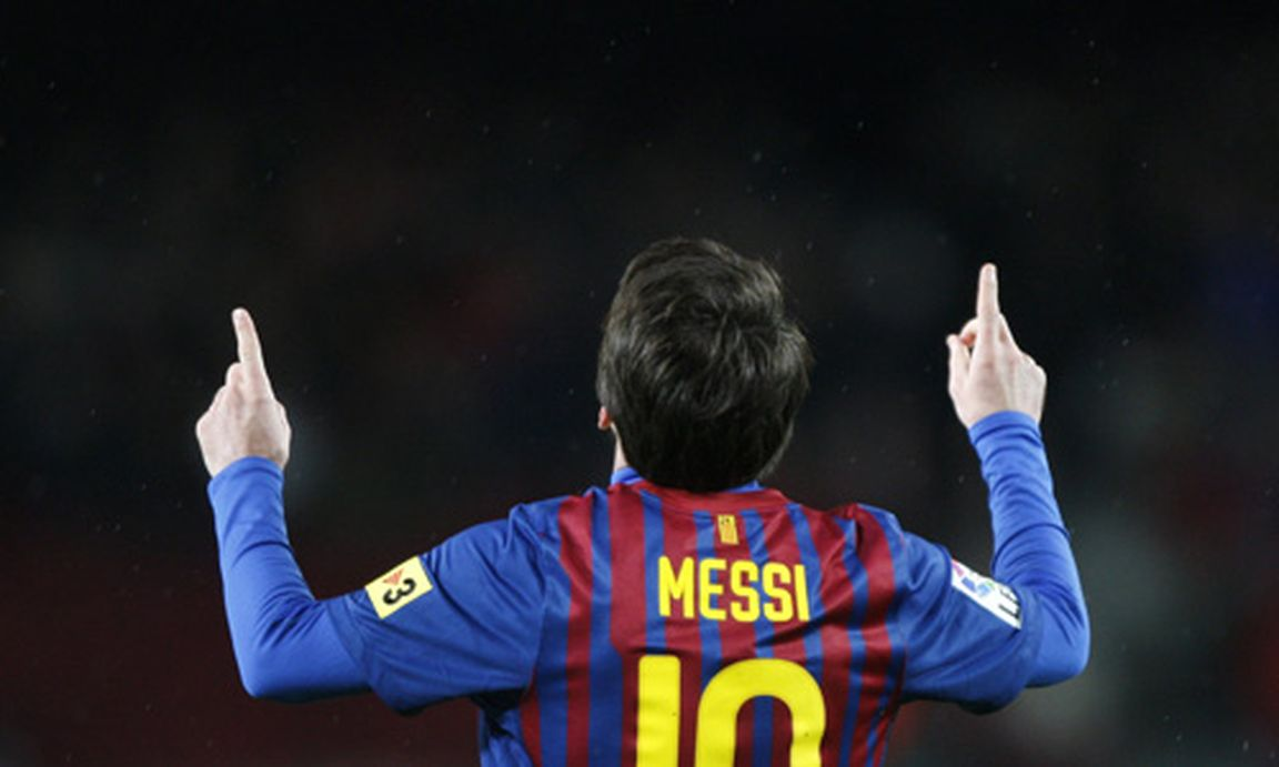 messi jubel