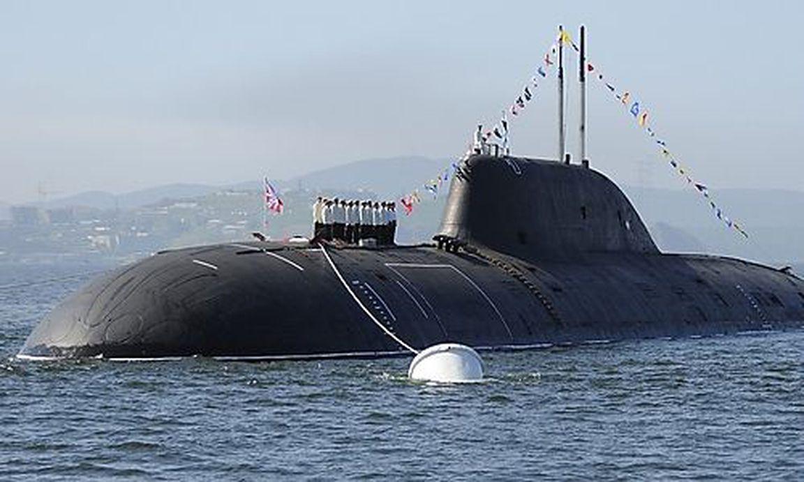 Russisches Atom U Boot