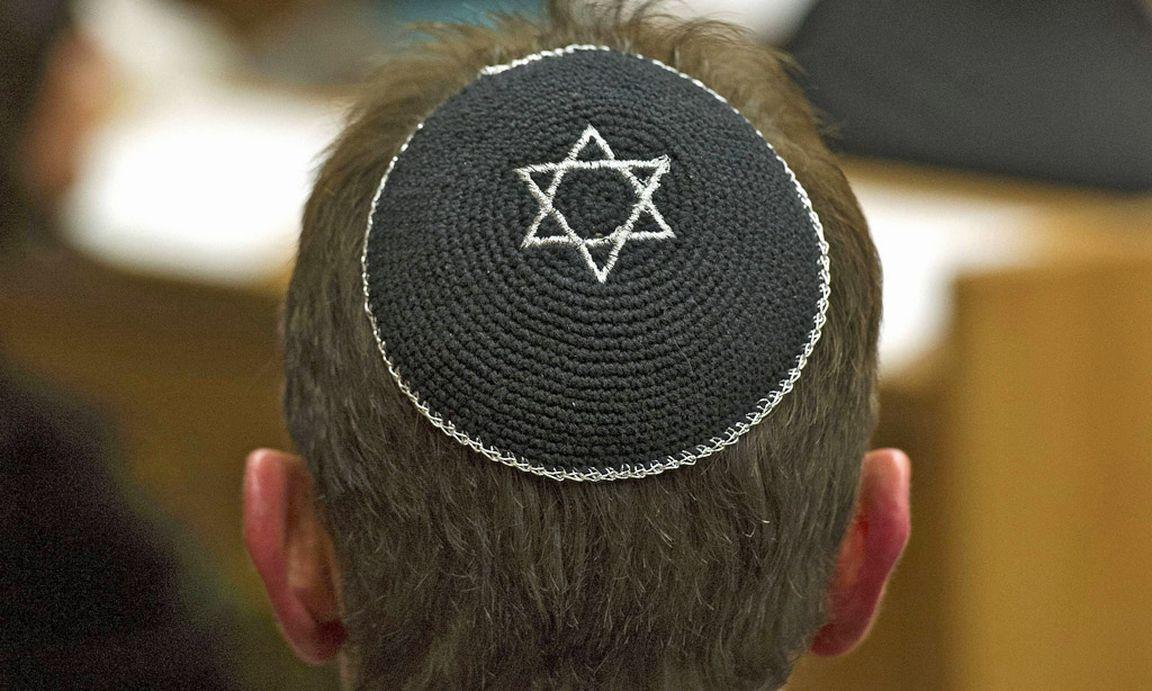Kopfbedeckung Juden