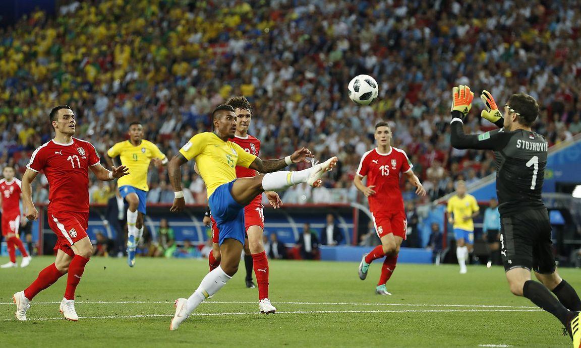 Serbien Gegen Brasilien