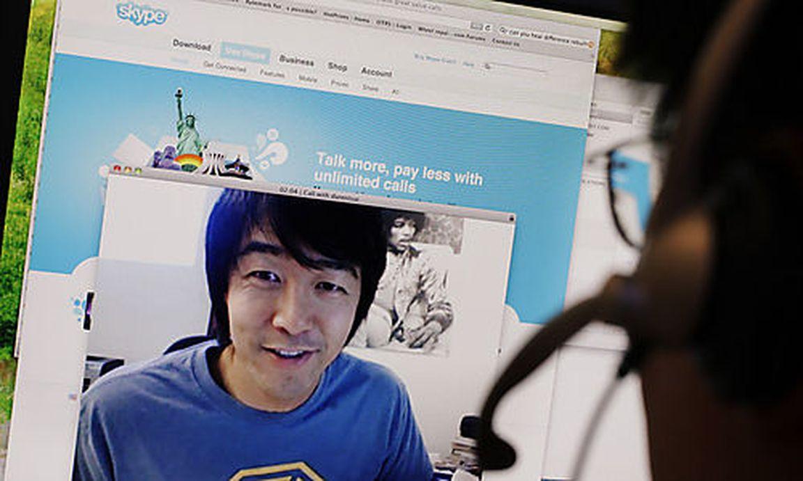 Partnersuche über skype