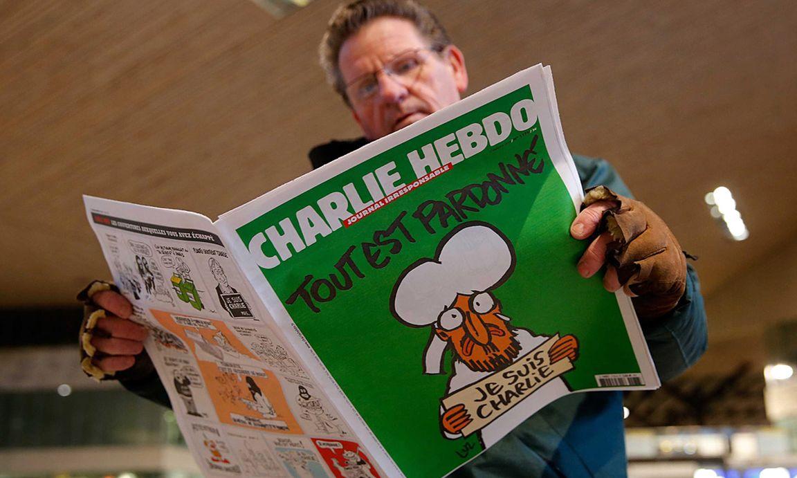 charlie hebdo sch nborn kritisiert vulg re karikaturen. Black Bedroom Furniture Sets. Home Design Ideas