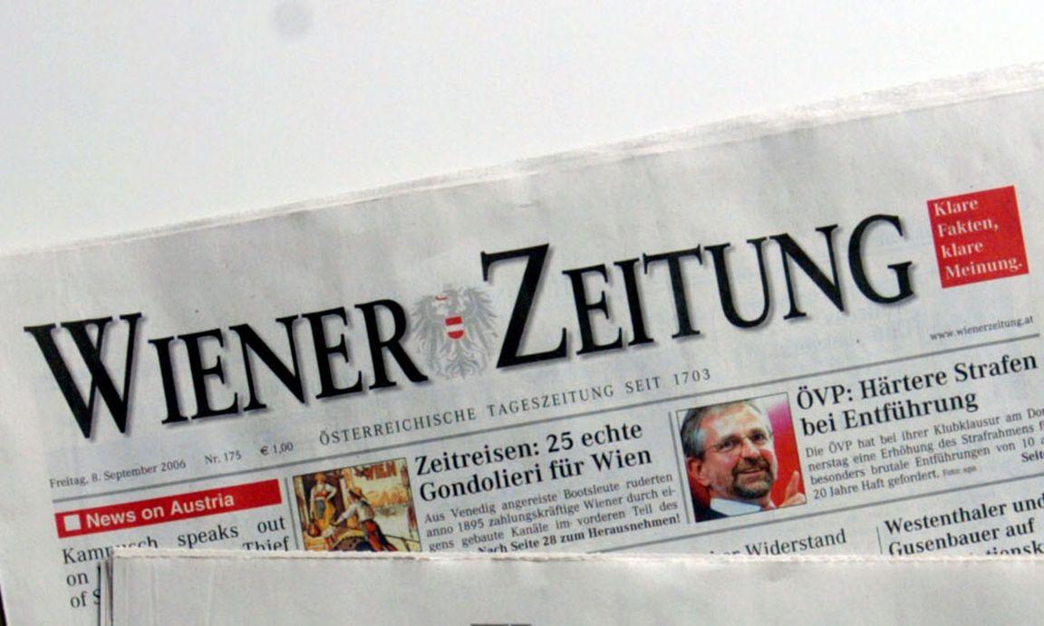 Wiener Zeitung Eine Besetzung Voll Offener Fragen DiePresse