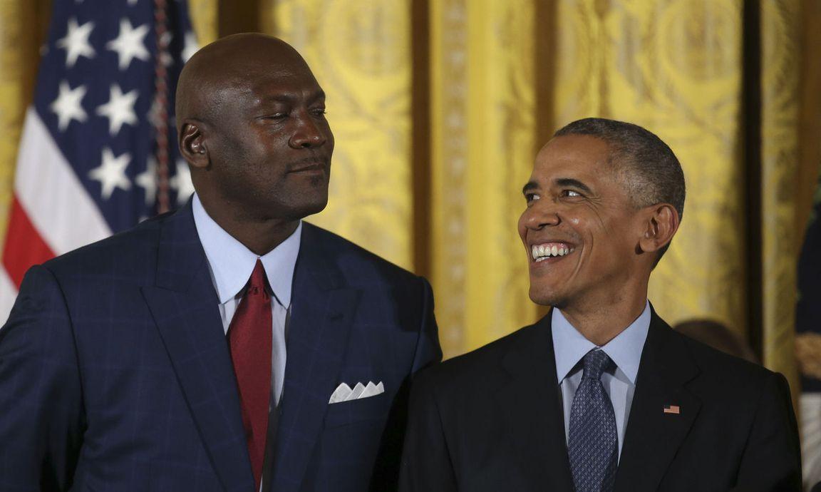 Auch Michael Jordan stellt sich gegen Donald Trump « DiePresse.com