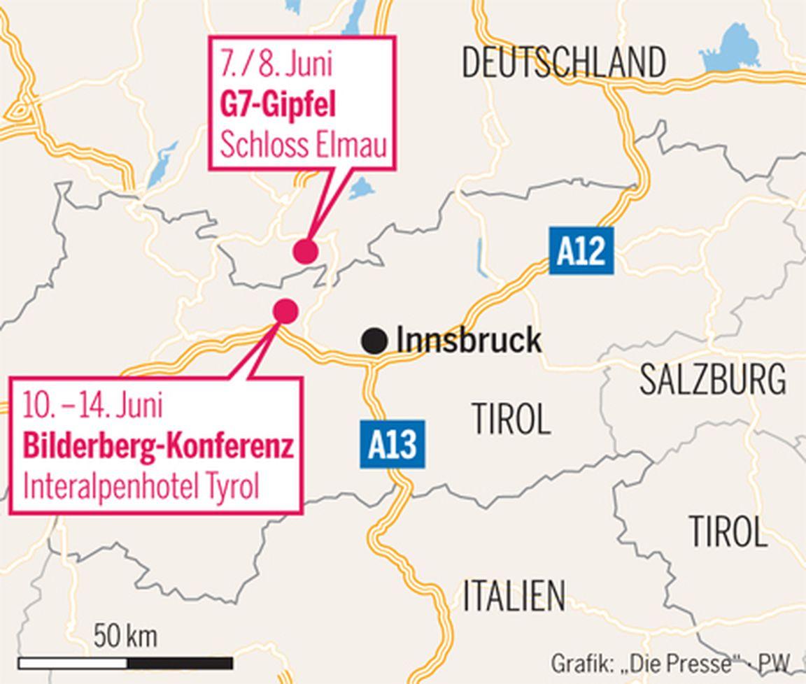 Ausufernden Kosten des G7-Gipfels in Elmau