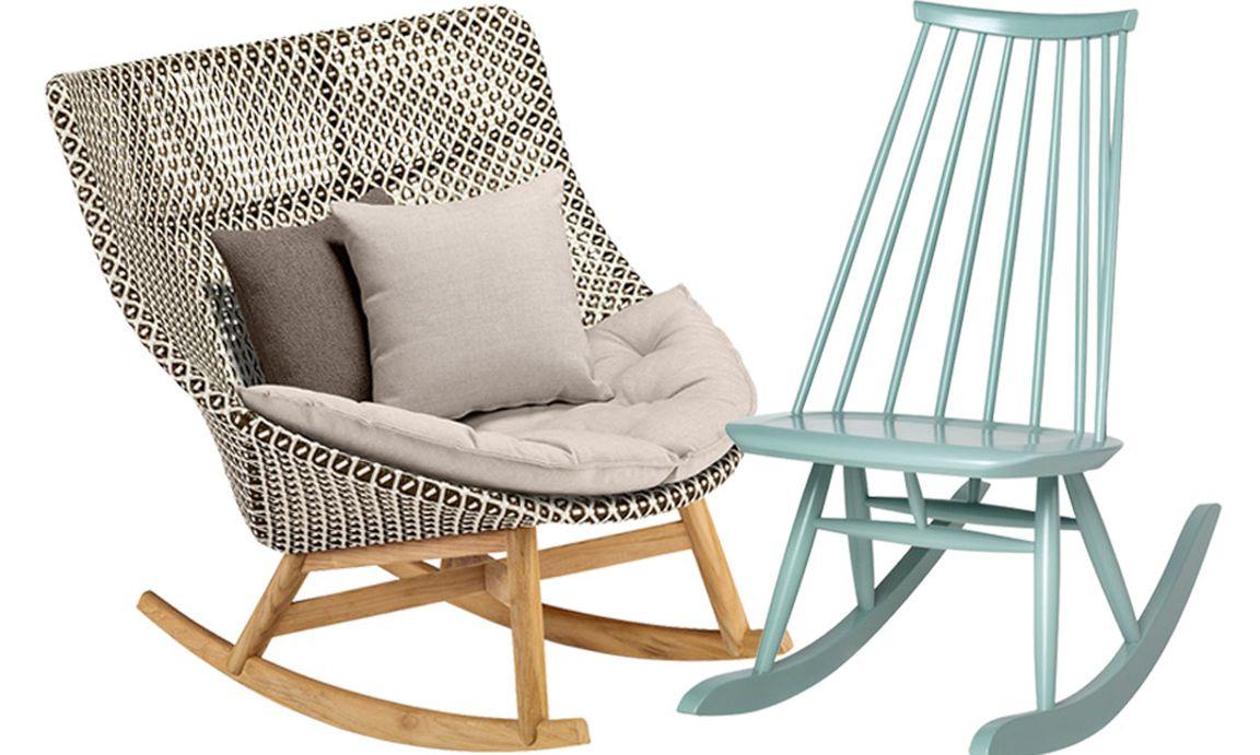 schaukelst hle m bel die rocken. Black Bedroom Furniture Sets. Home Design Ideas