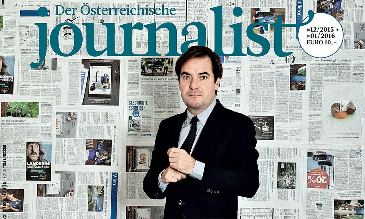 """Rainer Nowak ist """"Journalist des Jahres"""" « DiePresse.com"""