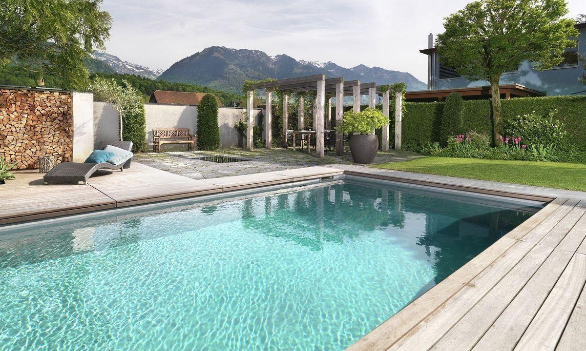 Einzigartig Poolhaus Bauen Galerie Von