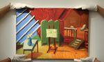 """David Hockney's """"Bridlington Studio Interior"""" kam heuer in London zur Versteigerung"""