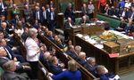 Theresa May hielt eine Rede im Unterhaus