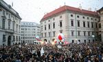 Protest against the government in Vienna