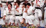 Medaillen-Selfies gab es Anfang September bei der Judo-WM in Tokio - in Wien werden 2021 keine Bilder gemacht.