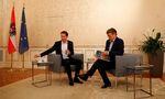 Sebastian Kurz, ÖVP, und Werner Kogler, Grüne