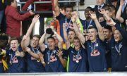Salzburg jubelt mit Pokal / Bild: APA/KEYSTONE/ALAIN GROSCLAUDE