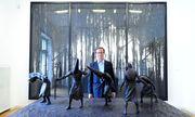 """""""Wir können einem Künstler nicht sagen, was er malen soll"""", so Galerist Thaddaeus Ropac. / Bild: (c) Die Presse (Clemens Fabry)"""