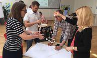 Beim GovJam wurden kreative Ideen für den öffentlichen Sektor spielerisch entwickelt. / Bild: Wonderwerk Consulting