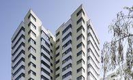 Das Wohnhaus Am Schöpfwerk 31 in Meidling ist mit jenem in London vergleichbar – komplett ausbrennen kann es aber nicht. / Bild: (c) Wiener Wohnen